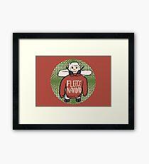 Fleece Navidad Framed Print