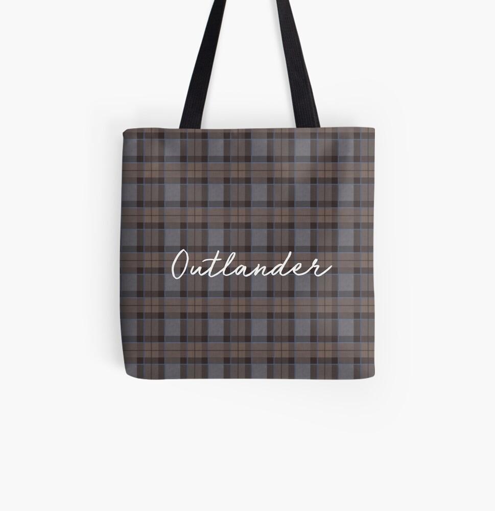 Outlander tartan All Over Print Tote Bag