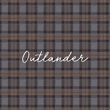 Outlander tartan by laurathedrawer