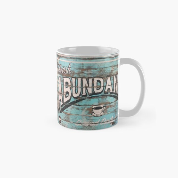 Abundance Blue - Positive Pop Classic Mug