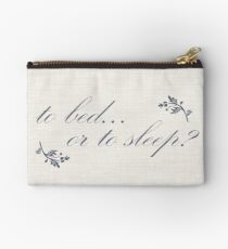 Outlander - to bed or to sleep Studio Pouch