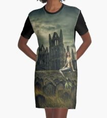 Cry of the Siren Graphic T-Shirt Dress