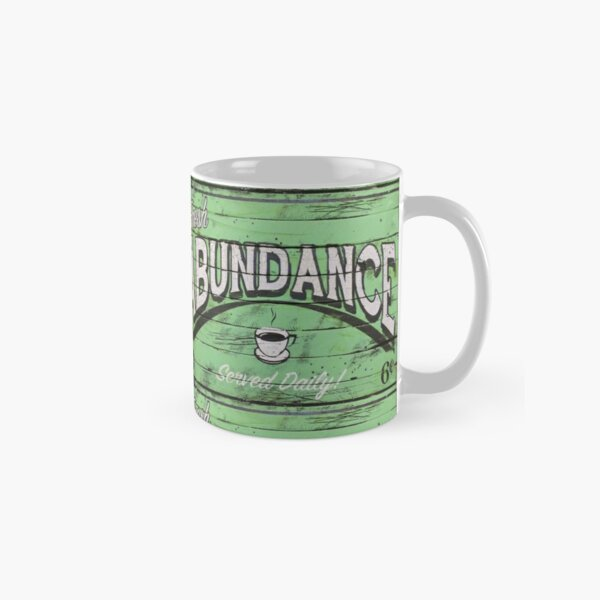 Abundance Green - Positive Pop Classic Mug