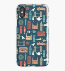 London Block Print - Multi by Andrea Lauren iPhone Case/Skin