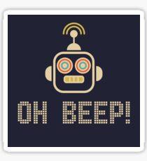 Oh Beep! Sticker