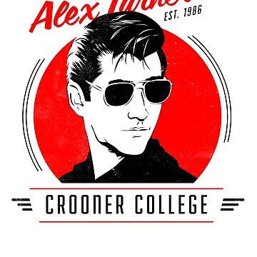 Alex Turner's Crooner College by kaligraf