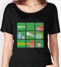 Sonic Rock Lips Women's Relaxed Fit T-Shirt