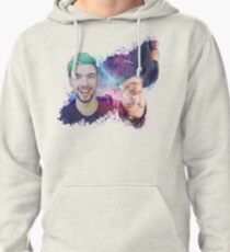 Mark & Jack Galaxy Watercolor White Background Pullover Hoodie