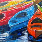 Sea Kayaks by Lora Garcelon