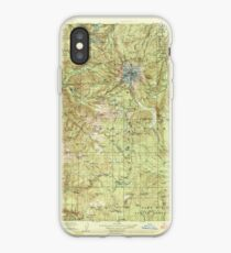 USGS Topo Map Oregon Mount Hood 283227 1927 125000 iPhone Case
