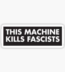 This moschino kill fascist Sticker