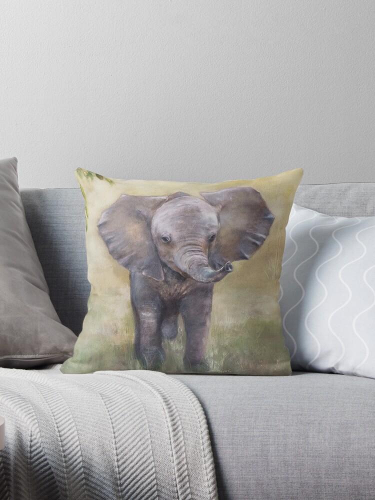 Cute Baby Elephant by Ohnie
