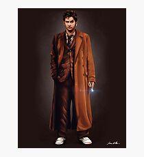 Tenth Doctor Full Body Portrait Photographic Print