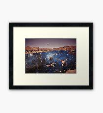Dive In Framed Print