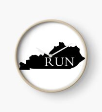 When you love to run and wanna represent your state! Clock
