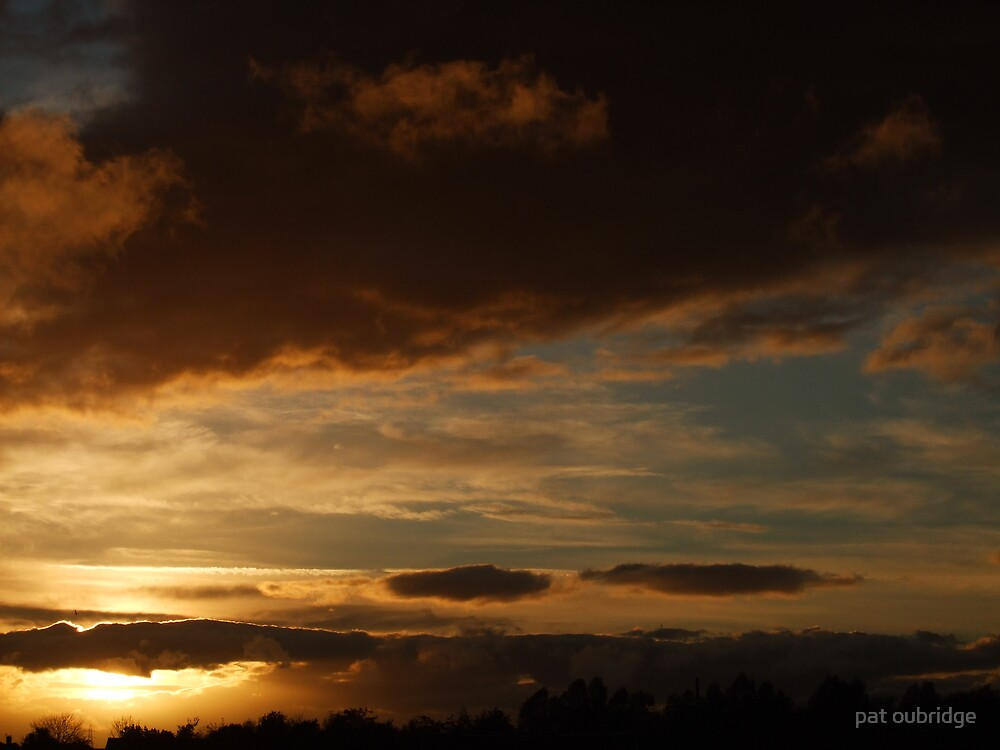 Saturday Sunset by pat oubridge