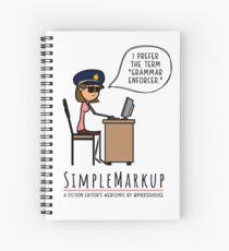 Grammar Police Spiral Notebook
