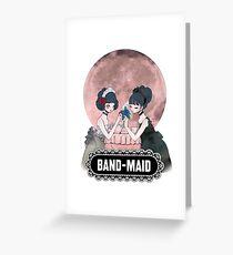 Just bring maid Greeting Card