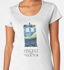 """Vincent and the Doctor"" Women's Premium T-Shirt"