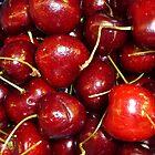Cherries by WildestArt