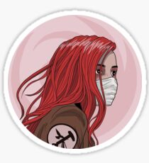 skin & earth en Sticker
