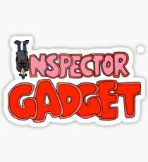 Inspector Gadget vectorized Sticker