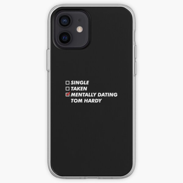 Mentally dating Tom HARDY  iPhone Soft Case