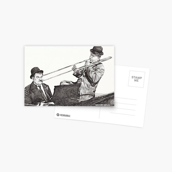 The Wrong Notes Postcard