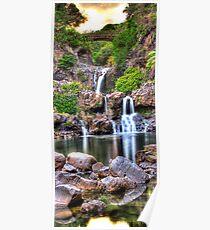 'Oheo Twilight, Kipahulu, Maui Poster