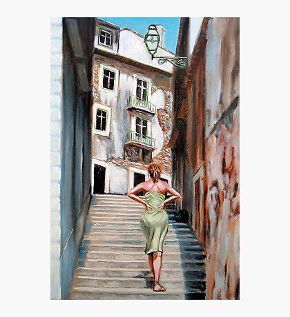 Fragrance of Lisbon Photographic Print