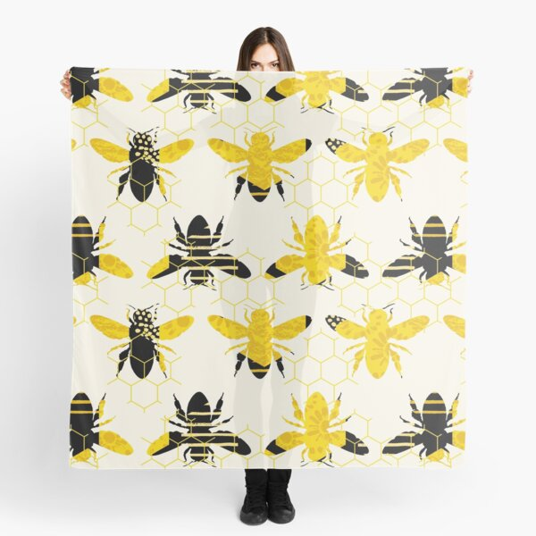 Bee pattern Scarf