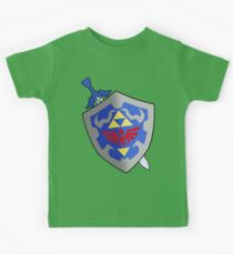 Sword and Shield Kids T-Shirt