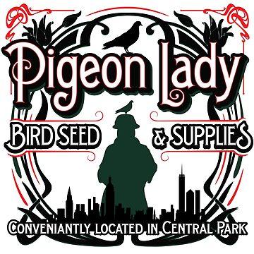 Pigeon Lady Seed by BrainSmash