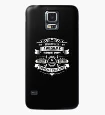 Awesome Since 2011 6th Birthday 6 Years Old Case/Skin for Samsung Galaxy