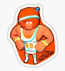 Brutes.io (Gymbrute Baller Orange) Sticker