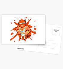Brutes.io (Gymbrute Baller Orange) Postcards