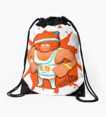 Brutes.io (Gymbrute Baller Orange) Drawstring Bag