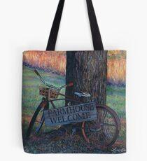 Farmhouse Welcome, artist Lynn Garwood Tote Bag