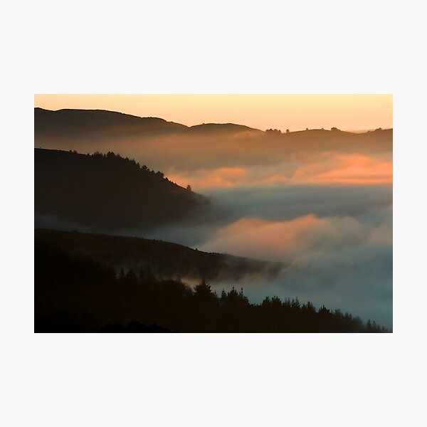 When The Fog Rolls In Photographic Print