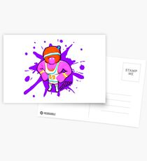 Brutes.io (Gymbrute Baller Pink) Postcards