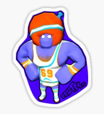 Brutes.io (Gymbrute Baller Purple) Sticker