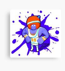 Brutes.io (Gymbrute Baller Purple) Canvas Print