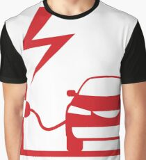 Electric Vehicle Graphic T-Shirt