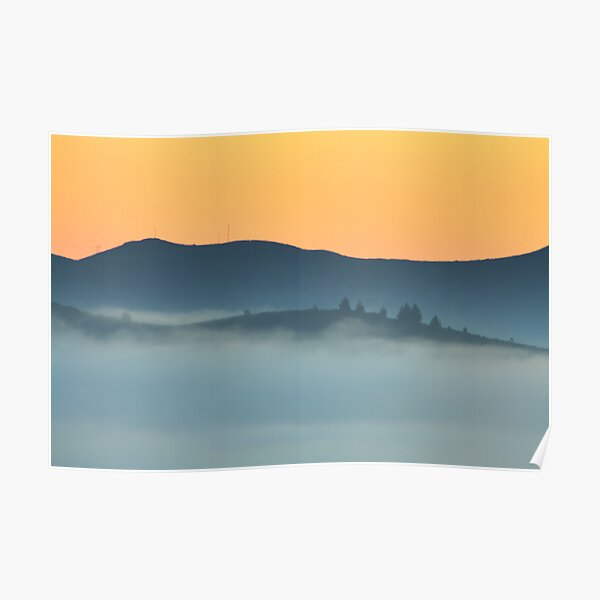 When The Fog Rolls In Poster