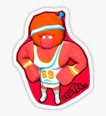 Brutes.io (Gymbrute Baller Red) Sticker