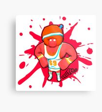 Brutes.io (Gymbrute Baller Red) Metal Print