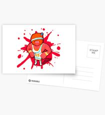 Brutes.io (Gymbrute Baller Red) Postcards