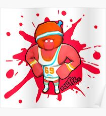 Brutes.io (Gymbrute Baller Red) Poster