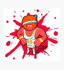 Brutes.io (Gymbrute Baller Red) Photographic Print