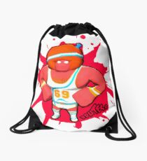 Brutes.io (Gymbrute Baller Red) Drawstring Bag